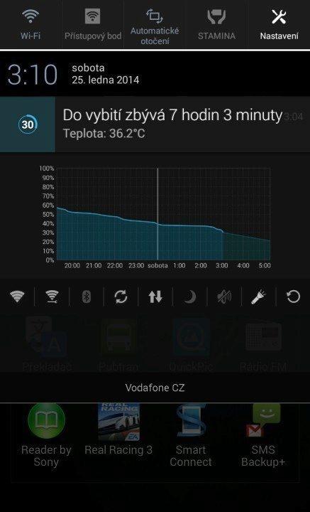 Sony Xperia Z1 Compact Screenshot - zahřívání (1)