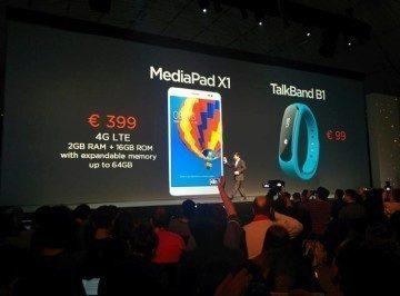 TalkBand B1 cena