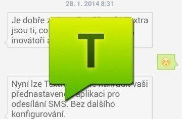Textra SMS: rychlý a jednoduchý správce vašich SMSek