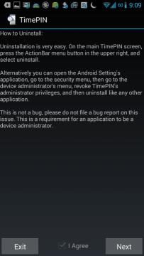 Jak odinstalovat aplikaci?