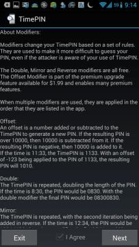 Vysvětlení modifikátorů