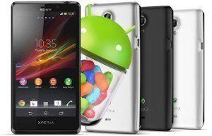 Telefony Sony Xperia T, TX a V dostávají aktualizaci na Android 4.3 Jelly Bean