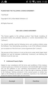 Licenční ujednání