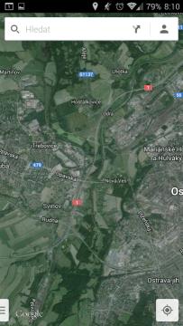 Mapy: satelitní snímky