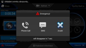 CaroO: nouzová SMS nebo volání