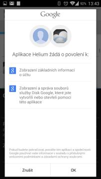 Přihlášení k účtu Google