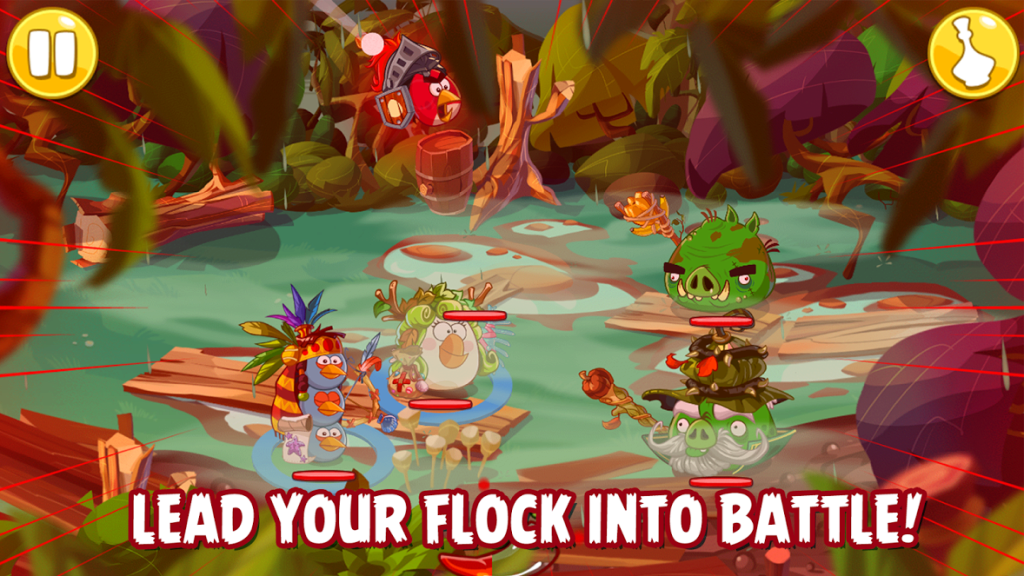 angry birds epic - rpg