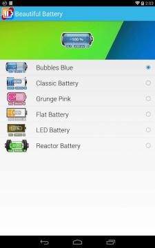 Beautifull Battery Widget 1
