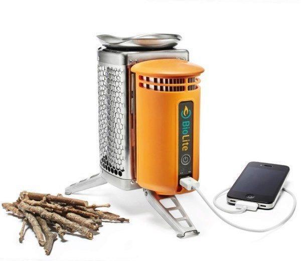 Potřebujete jen BioLite CampStove a větvičky