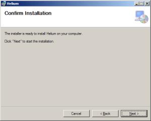 Helium Desktop Installer
