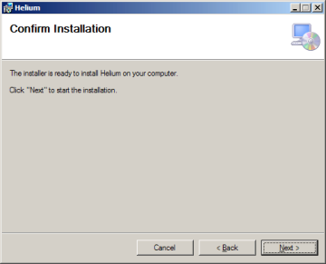 Helium Desktop Installer