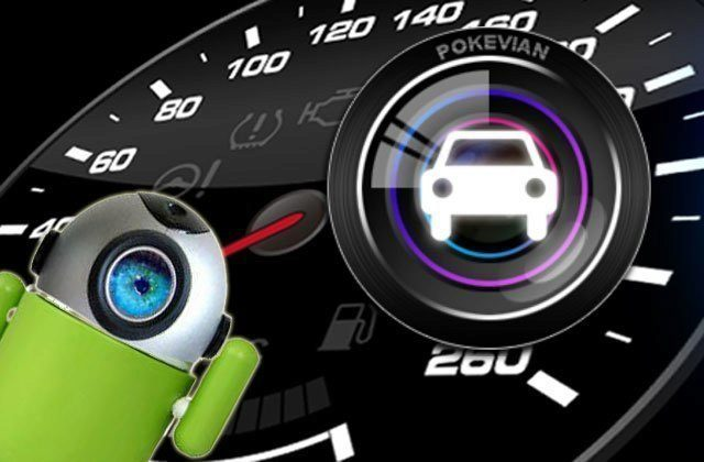 Android jako kamera a černá skříňka do auta: CaroO