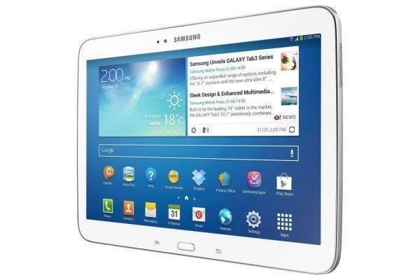 Fyzické tlačítko Domů má i nový Samsung Galaxy Tab 3 10.1