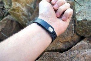 Fitbit Flex komfort při nošení 3