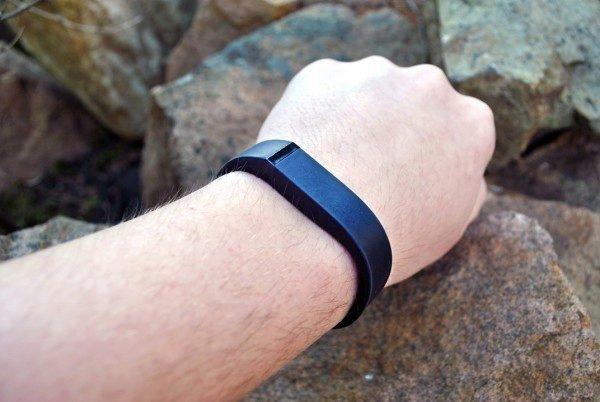 Fitbit Flex komfort při nošení