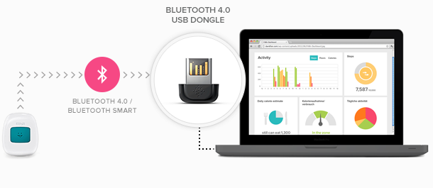 Fitbit Flex USB dongle 2