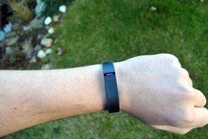 Fitbit Flex vysoká aktivita