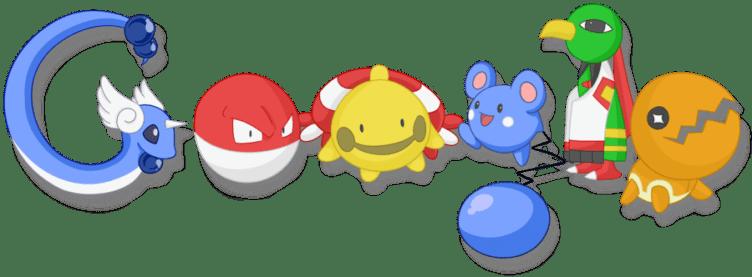 google mapy pokémoni
