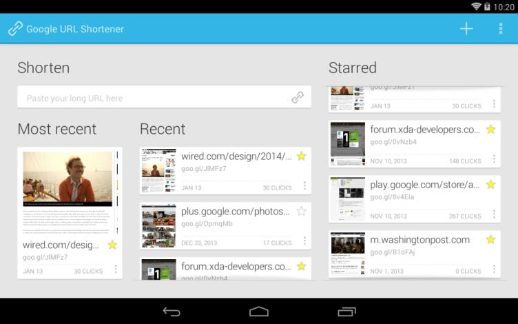 Google Shortener 3