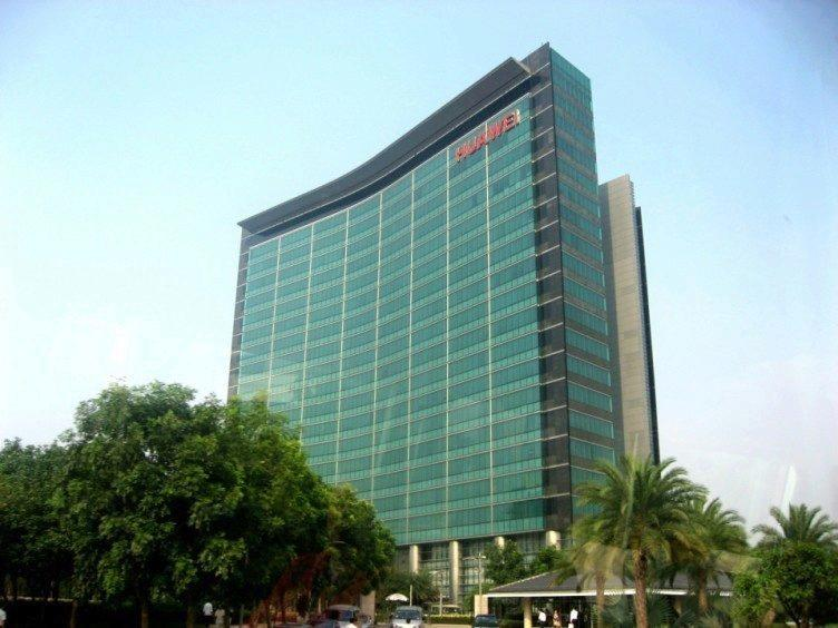 Huawei sídlo