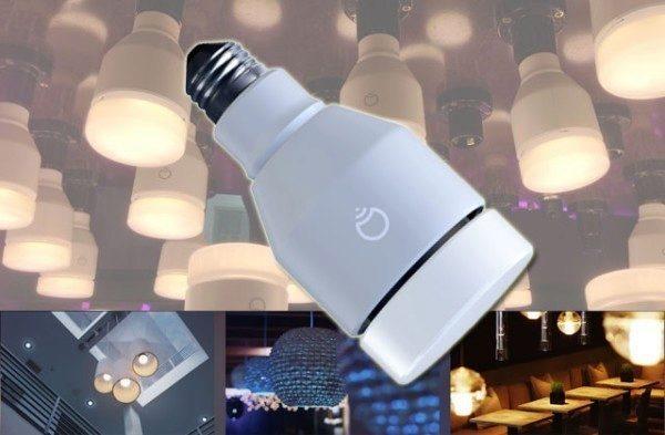 Inteligentní žárovka LIFX ovládaná mobilem podbarví váš domov i kancelář