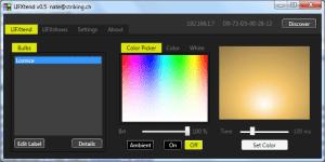 LIFXtend: nastavení barvy světla