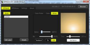 LIFXtend: nastavení teploty bílého světla
