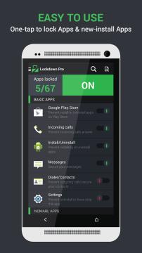 Lockdown Pro 1 Android aplikace