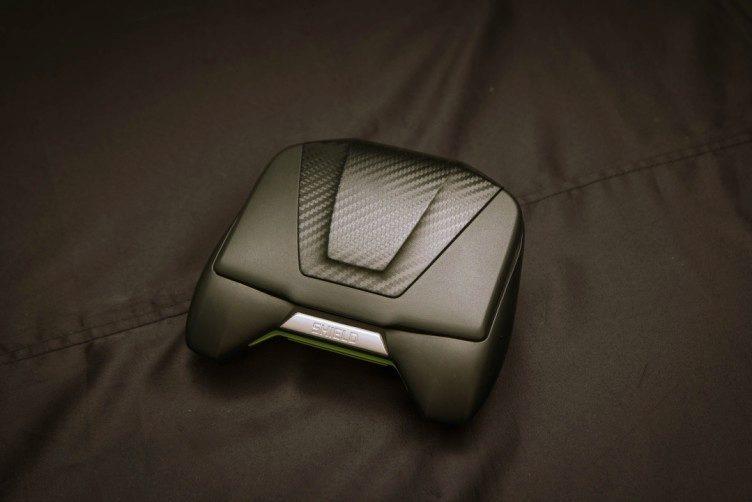 Přední strana konzole Shield