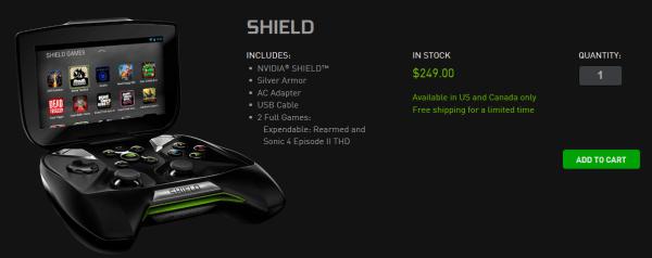 nvidia shield obchod