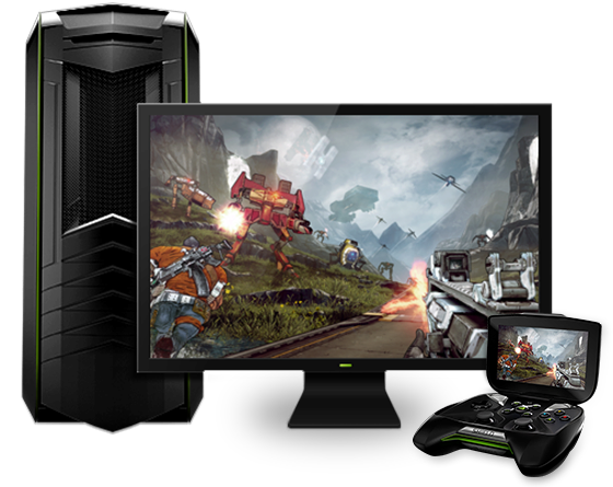 Nvidia shield streamování pc her