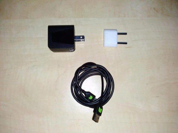 nvidia shield usb kabel, nabíječka a redukce