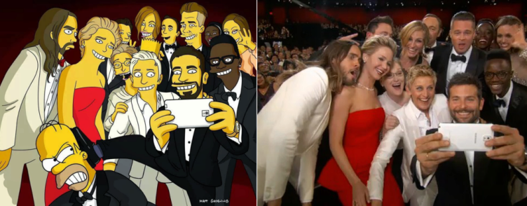 Oscaři a nejsdílenější fotografie Twitteru selfie