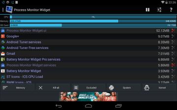 Process Monitor Widget 1