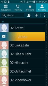 Samsung Galaxy S5 Kontakty SMS