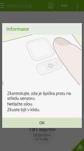 Samsung Galaxy S5 měřič tepu 2