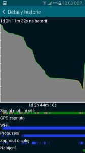 Samsung Galaxy S5 nízká zátěž 2