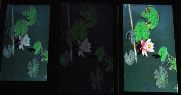 Samsung Galaxy S5 porovnání displejů 2