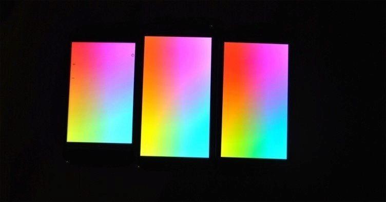 Samsung Galaxy S5 porovnání displejů