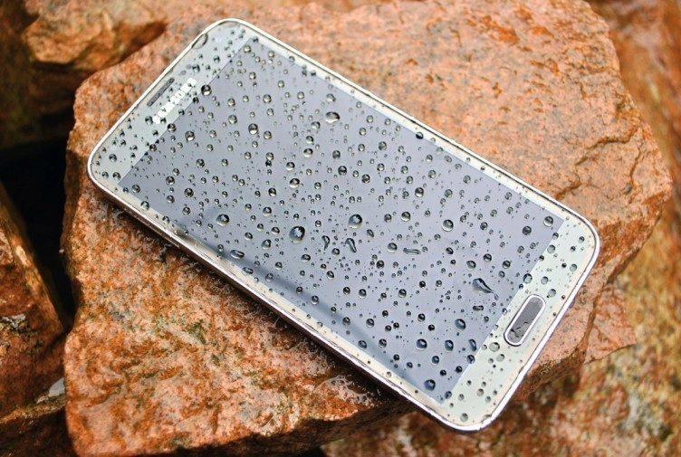Samsung Galaxy S5 přední strana