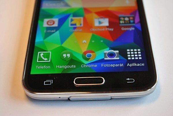 Samsung Galaxy S5 tlačítka