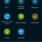 Samsung Galaxy S5 ukázka prostředí TouchWiz 12