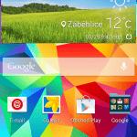 Samsung Galaxy S5 ukázka prostředí TouchWiz 3