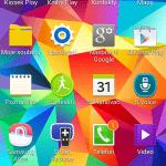 Samsung Galaxy S5 ukázka prostředí TouchWiz 4