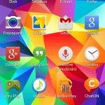 Samsung Galaxy S5 ukázka prostředí TouchWiz 5