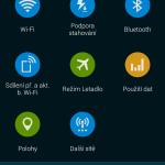 Samsung Galaxy S5 ukázka prostředí TouchWiz 7