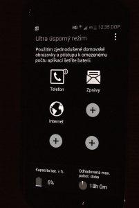 Samsung Galaxy S5 ultra úsporný režim 1