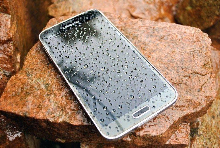 Samsung Galaxy S5 vodotěsnost