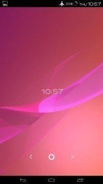 Živá tapeta z telefonu Sony Xperia Z2