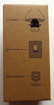 Žárovka LIFX - krabička: návod k instalaci a zprovoznění